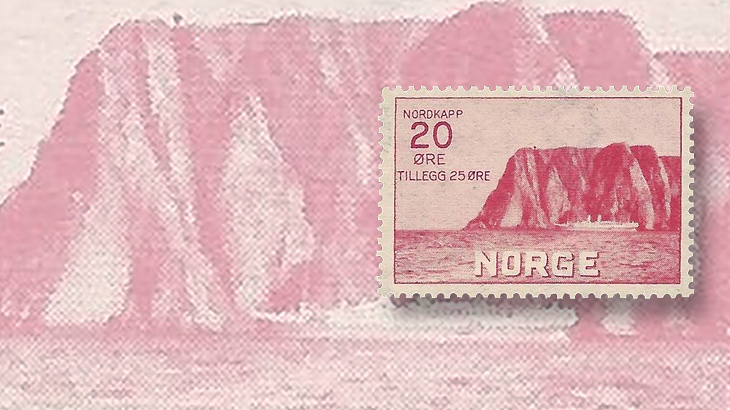 nordic-stamp-scene-norway-1930-north-cape-semipostal