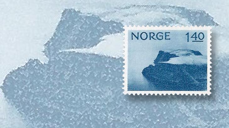 nordic-stamp-scene-norway-1974-north-cape-definitive