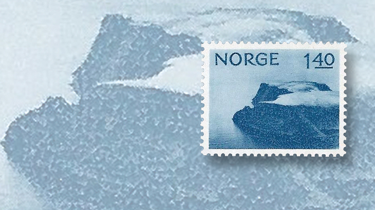 nordic-stamp-scene-norway-1974-north-cape-definitive