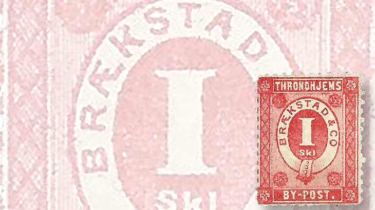 nordic-stamp-scene-trondheim-norway-by-post-local-post-1872-new-design