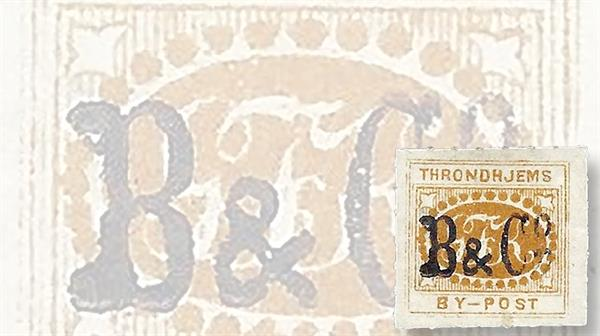 nordic-stamp-scene-trondheim-norway-by-post-local-post-overprint