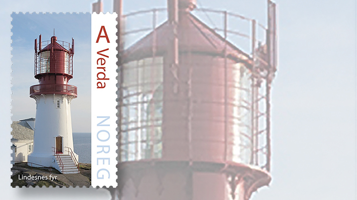 norway-lighthouse-stamp