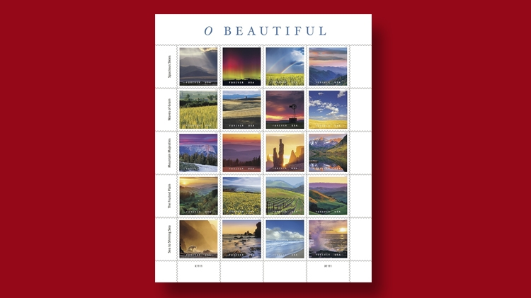 o-beautiful-20-stamps