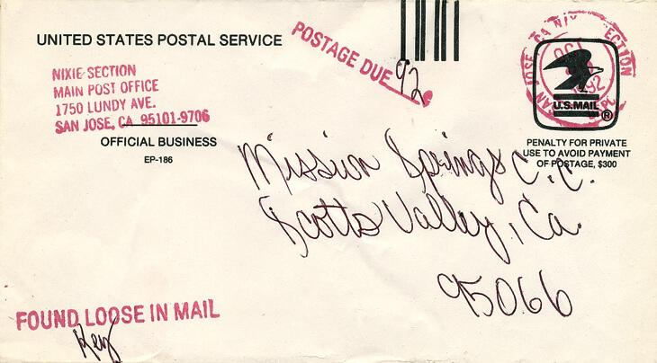 october-1992-penalty-envelope
