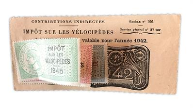 odd-lot-france-bicycle-tax-revenue-stamps