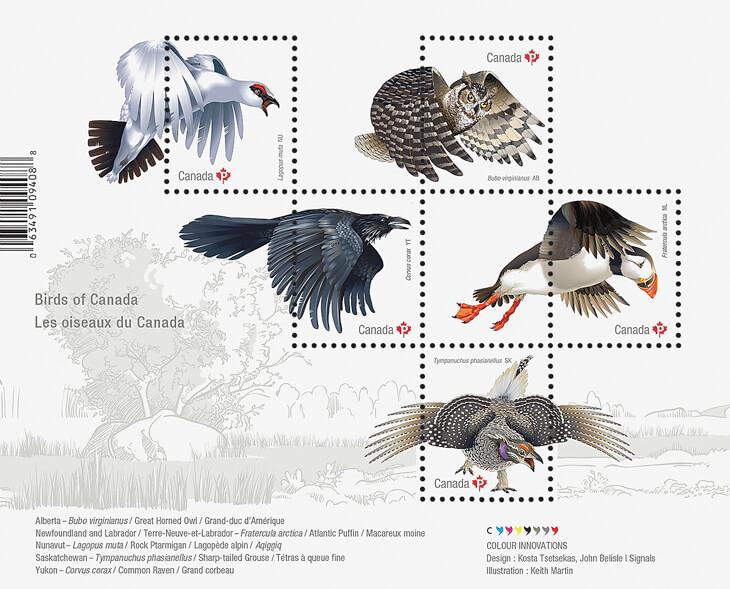 official-birds-of-canada-souvenir-sheet