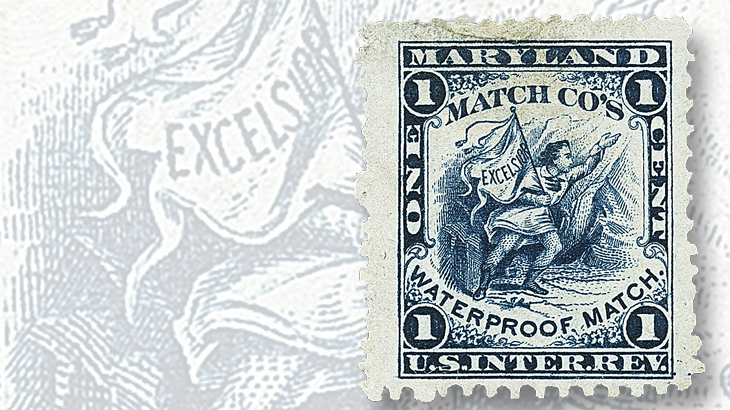 one-cent-maryland-match-co-stamp