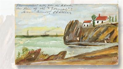 one-cent-mckinley-postal-card-watercolor-painting