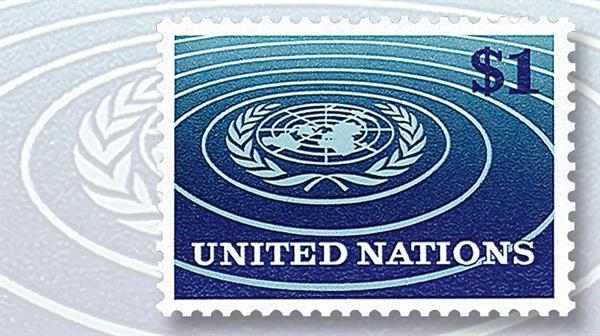 one-dollar-united-nations-emblem-stamp-1966