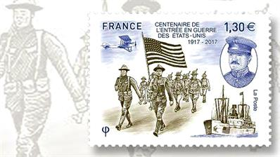 one-euro-stamp-france-world-war-one
