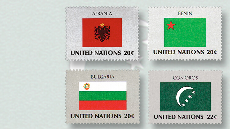 original-united-nations-flag-series-stamps