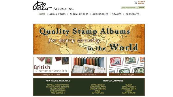 palo-albums-website-screenshot