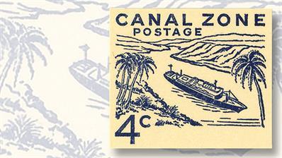 panama-canal-postal-card