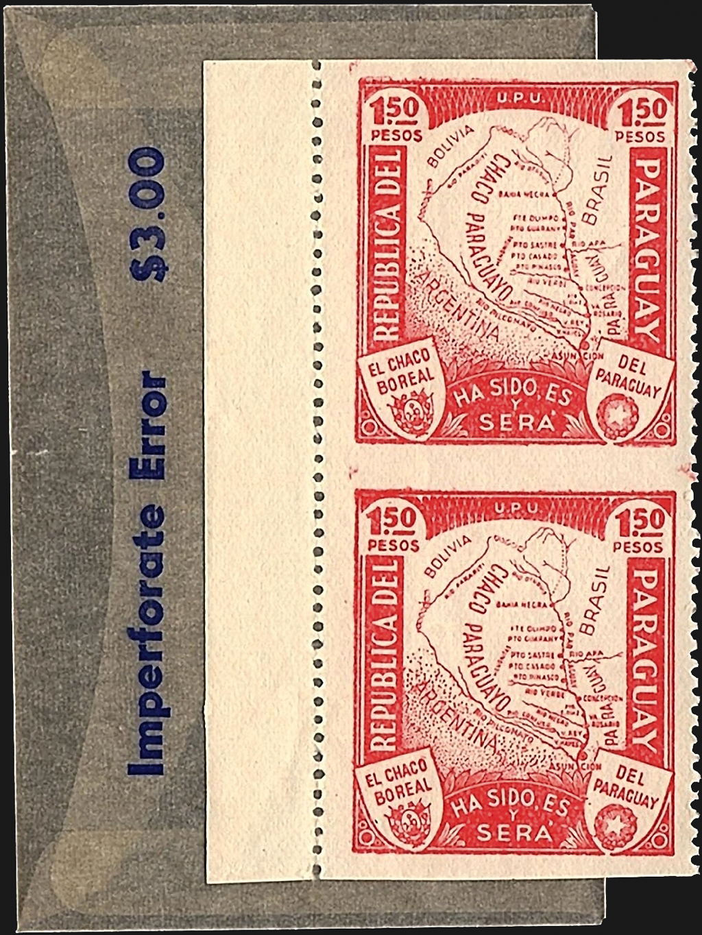 paraguay-vertical-pair-imperforate-horizontally-scott-324