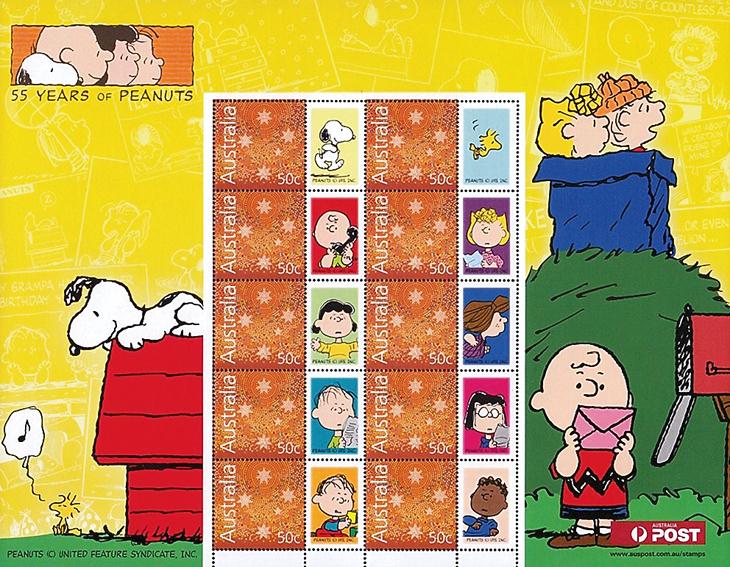 peanuts-australia-personalized-souvenir-sheet