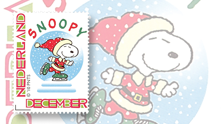 peanuts-netherlands-snoopy-personalized-stamp