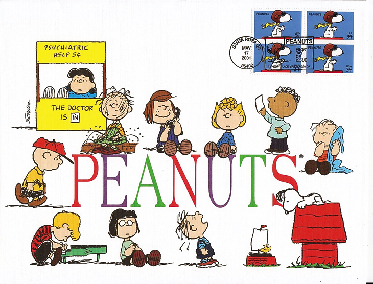 peanuts-united-states-snoopy-first-day-cover