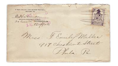 peirce-business-school-1907-practice-mail-unicorn-stamp-cover