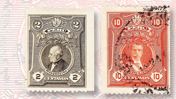 peru-first-coil-stamps