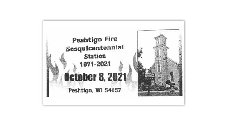 peshtigo-wisconsin-fire-sesquicentennial-postmark