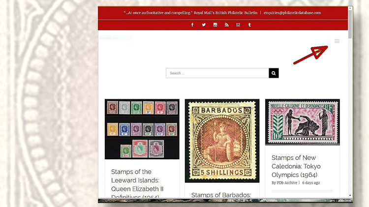 philatelic-database-homepage