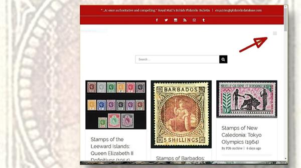 philatelic-database-homepage