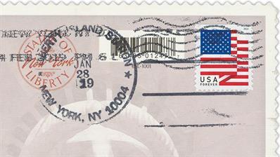 philatelic-foreword-liberty-island-postmark