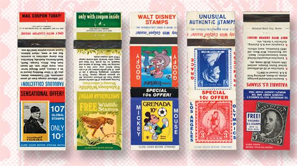 philatelic-matchbook-covers