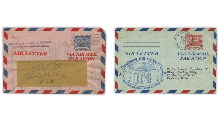philippines-1948-1950-dc-4-skymaster-aerograms