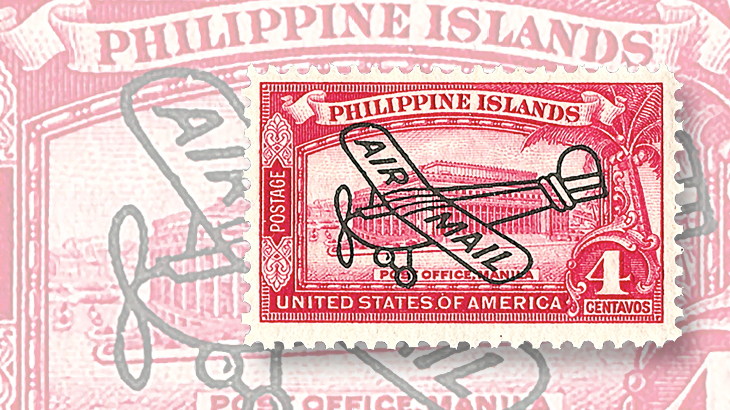 philippines-airplane-overprint-airmail-stamp-1933