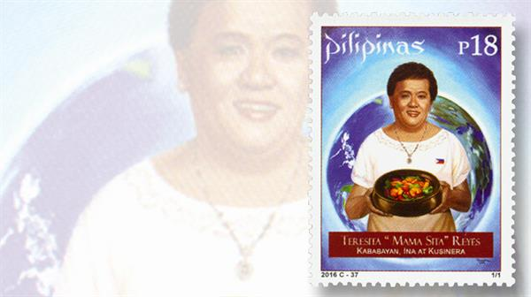 philippines-chef-teresita-mama-sita-reyes-stamp