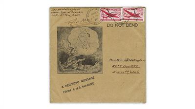 phonograph-record-mailer-1946-airmail-stamps