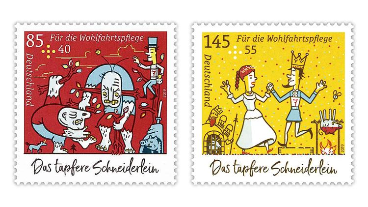 pig-semipostal-stamps-germany