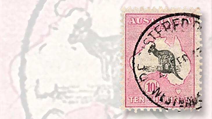 pink-gray-kangaroo-and-map-stamp