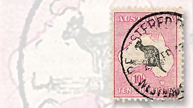 pink-gray-kangaroo-and-map-stamp