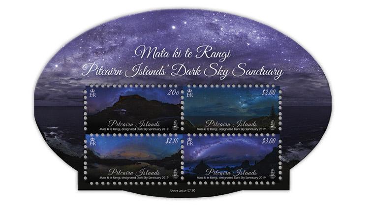 pitcairn-islands-international-dark-sky-sanctuary-stamp-sheet