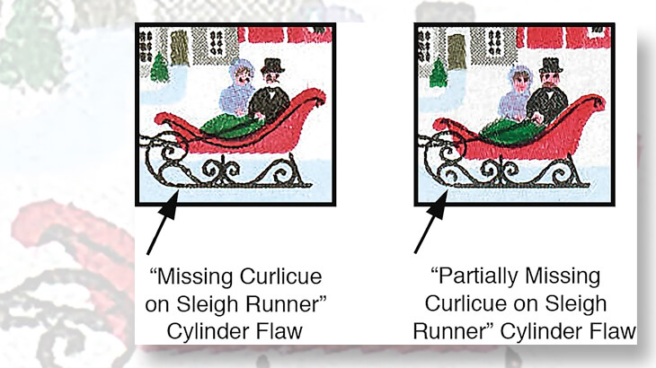 plate-flaws-1988-25-cent-christmas-stamp