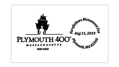 plymouth-massachusetts-400th-anniversary-postmark