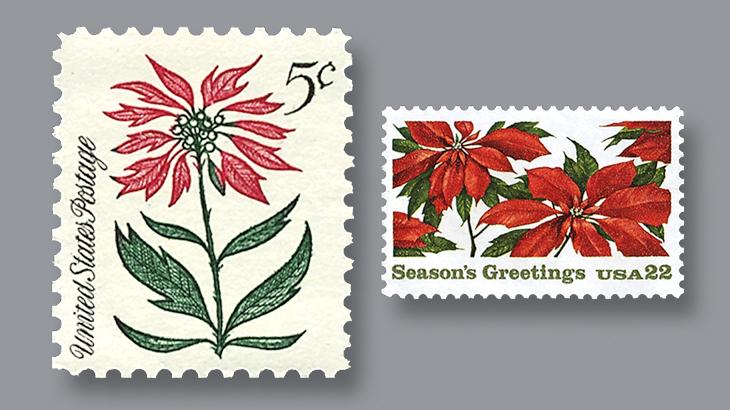 Poinsettia 1964 And 1985