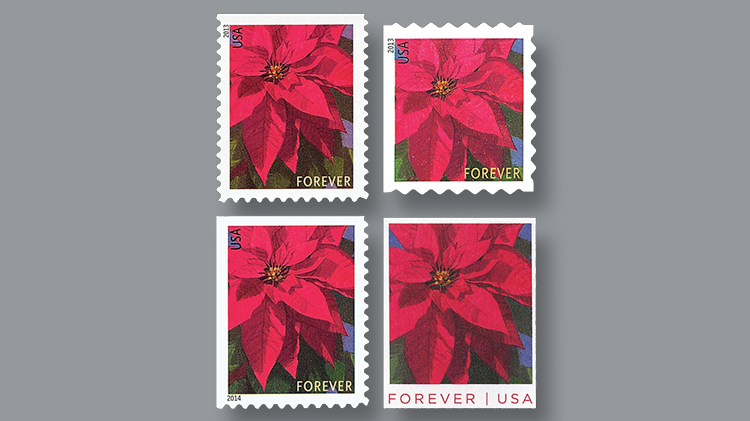Poinsettia Global Forever Stamp To Be Issued On A Sunday