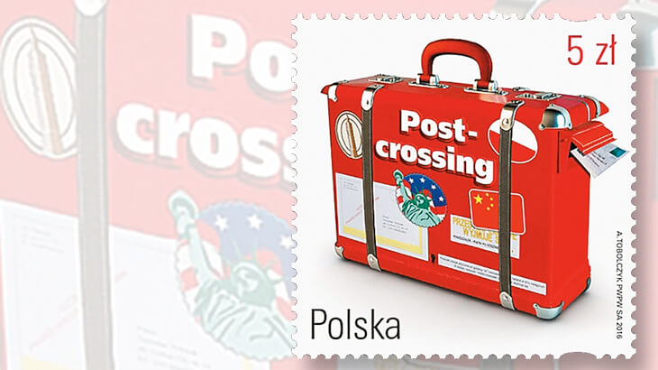 poland-stamp-honoring-postcrossing