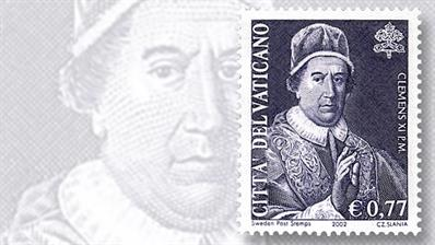 pope-clement-xi-vatican-city-stamp