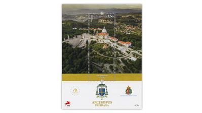 portugal-archbishops-braga-postage-stamp