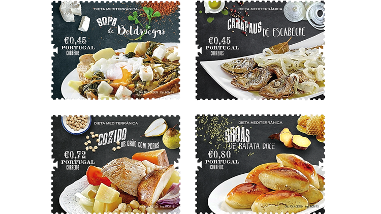 portugal-mediterranean-diet-stamps-2015