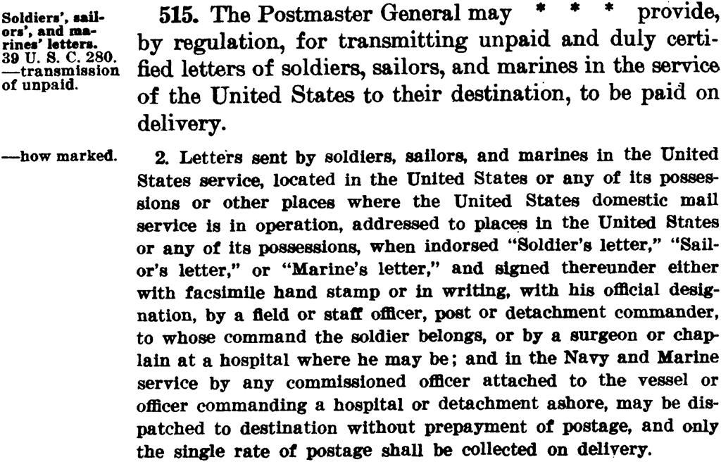 postal-laws-regulations-prepayment-postage
