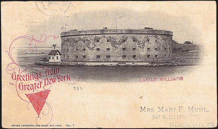 postcard-new-york-city-castle-williams