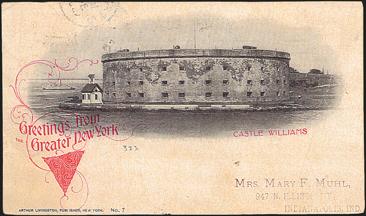 postcard-new-york-city-castle-williams
