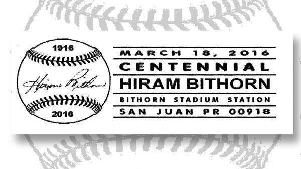 postmark-hiram-bithorn-birth-centennial-baseball