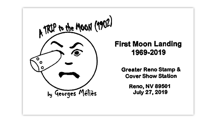 Postmark recalls 1902 French film 'A Trip to the Moon'