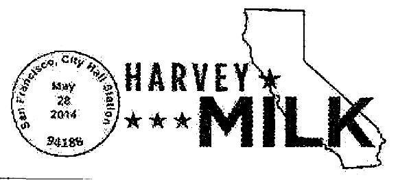 San Francisco offers city hall postmark for Harvey Milk stamp